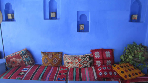 Room in a riad